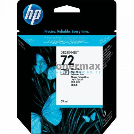 HP 72, HP C9397A, originální cartridge pro tiskárny HP DesignJet T795, Designjet T610, Designjet T620, Designjet T770, Designjet T790, Designjet T1100, Designjet T1100 MFP, Designjet T1100ps, Designjet T1120, Designjet T1120 HD, Designjet T1120 SD, Design