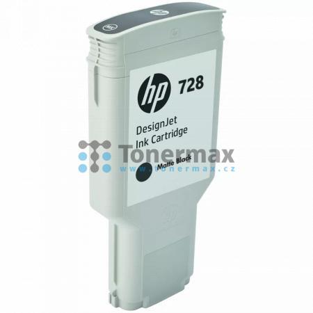 HP 728, HP F9J68A, originální cartridge pro tiskárny HP DesignJet T730, DesignJet T830, DesignJet T830 MFP