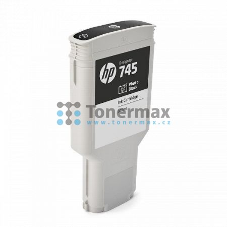 HP 745, HP F9K04A, originální cartridge pro tiskárny HP DesignJet Z2600, DesignJet Z2600 PostScript Printer, DesignJet Z5600, DesignJet Z5600 PostScript Printer