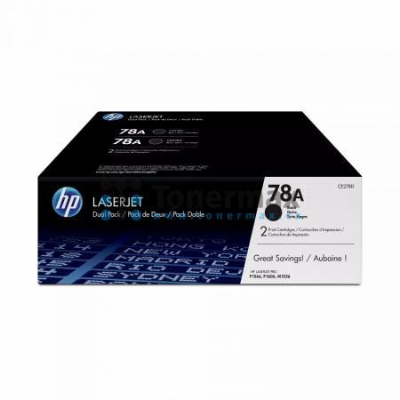 HP 78A, HP CE278AD, dvoubalení, originální toner pro tiskárny HP LaserJet 1536dnf MFP, LaserJet M1536dnf MFP, LaserJet P1566, LaserJet Pro P1566, LaserJet P1606dn, LaserJet P1606, LaserJet Pro P1606dn