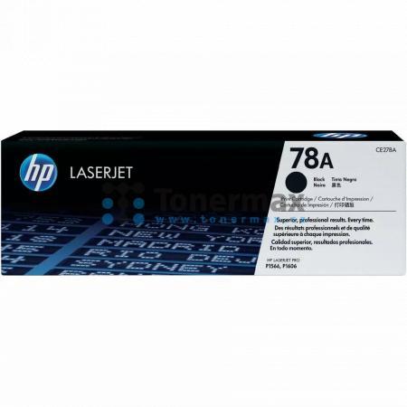 HP 78A, HP CE278A, originální toner pro tiskárny HP LaserJet 1536dnf MFP, LaserJet M1536dnf MFP, LaserJet P1566, LaserJet Pro P1566, LaserJet P1606dn, LaserJet P1606, LaserJet Pro P1606dn