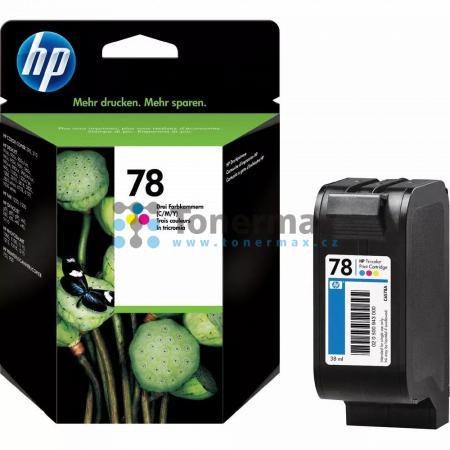 HP 78XL, HP C6578A, originální cartridge pro tiskárny HP Color Copier 180, Color Copier 190, Color Copier 280, Color Copier 290, Color Copier 310, Deskjet 916c, Deskjet 920c, Deskjet 920cvr, Deskjet 920cw, Deskjet 920cxi, Deskjet 922c, Deskjet 930, Deskje