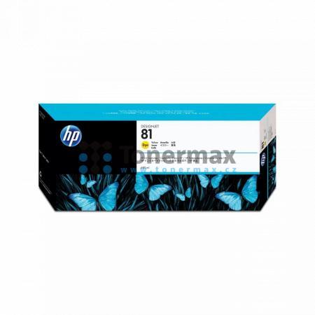 HP 81, HP C4933A, dye, originální cartridge pro tiskárny HP Designjet 5000, Designjet 5000ps, Designjet 5500, Designjet 5500ps