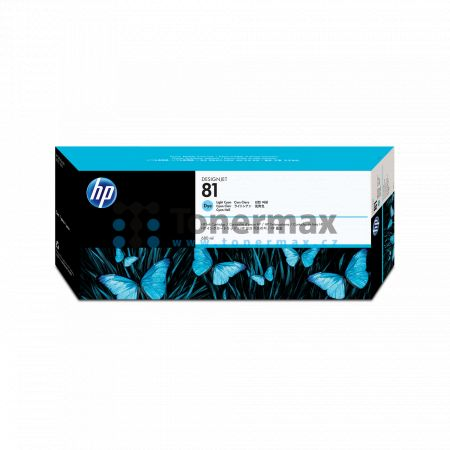 HP 81, HP C4934A, dye, originální cartridge pro tiskárny HP Designjet 5000, Designjet 5000ps, Designjet 5500, Designjet 5500ps