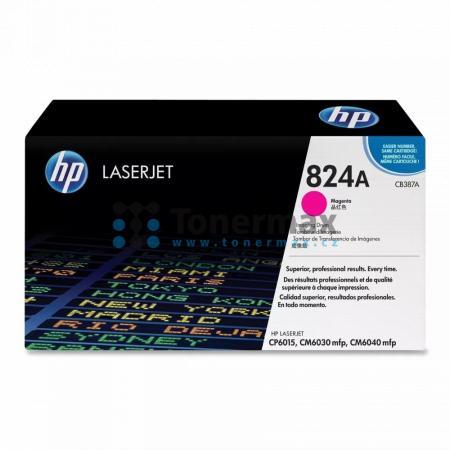 HP 824A, HP CB387A, zobrazovací válec originální pro tiskárny HP Color LaserJet CM6030 MFP, Color LaserJet CM6030, Color LaserJet CM6030f MFP, Color LaserJet CM6040 MFP, Color LaserJet CM6040, Color LaserJet CM6040f MFP, Color LaserJet CP6015de, Color Las