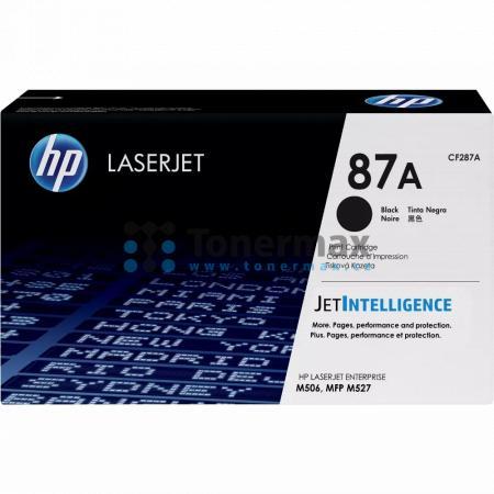 HP 87A, HP CF287A, originální toner pro tiskárny HP LaserJet Enterprise Flow MFP M527, LaserJet Enterprise Flow MFP M527c, LaserJet Enterprise Flow MFP M527z, LaserJet Enterprise M506, LaserJet Enterprise M506dn, LaserJet Enterprise M506n, LaserJet Enterp