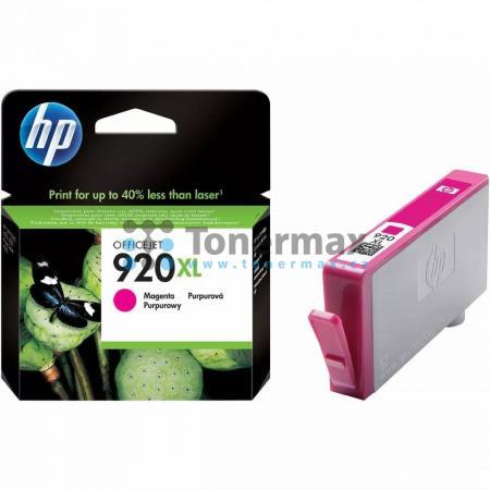 HP 920XL, HP CD973AE, originální cartridge pro tiskárny HP Officejet 6000, Officejet 6000 Wireless, Officejet 6500, Officejet 6500 Wireless, Officejet 6500A, Officejet 6500A Plus, Officejet 7000, Officejet 7000 Wide Format, Officejet 7500A, Officejet 7500