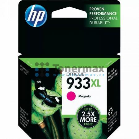 HP 933XL, HP CN055AE, originální cartridge pro tiskárny HP OfficeJet 7510, Officejet 6100, Officejet 6600, Officejet 6700 Premium, Officejet 7110, Officejet 7110 Wide Format, Officejet 7610, Officejet 7612