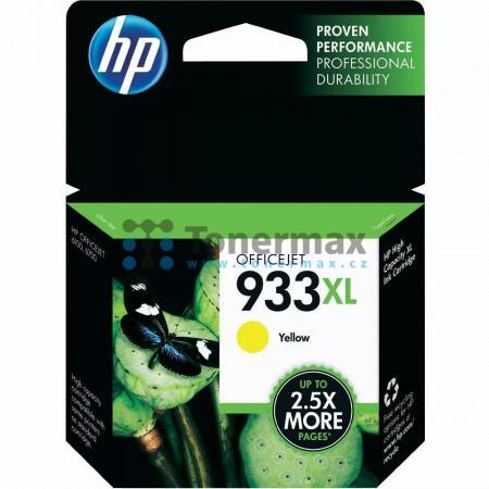 HP 933XL, HP CN056AE, originální cartridge pro tiskárny HP OfficeJet 7510, Officejet 6100, Officejet 6600, Officejet 6700 Premium, Officejet 7110, Officejet 7110 Wide Format, Officejet 7610, Officejet 7612