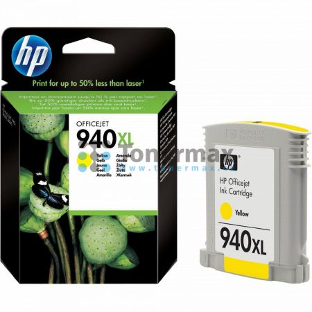 HP 940XL, HP C4909AE, originální cartridge pro tiskárny HP Officejet Pro 8000, Officejet Pro 8000 Enterprise, Officejet Pro 8500, Officejet Pro 8500A, Officejet Pro 8500A Plus, Officejet Pro 8500A Premium