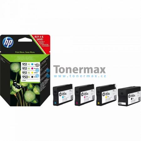 HP 950XL + HP 951XL, HP C2P43AE, 4-Pack, originální cartridge pro tiskárny HP Officejet Pro 251dw, Officejet Pro 276dw, Officejet Pro 8100, Officejet Pro 8600, Officejet Pro 8600 Plus, Officejet Pro 8600 Premium, Officejet Pro 8610, Officejet Pro 8620, Of