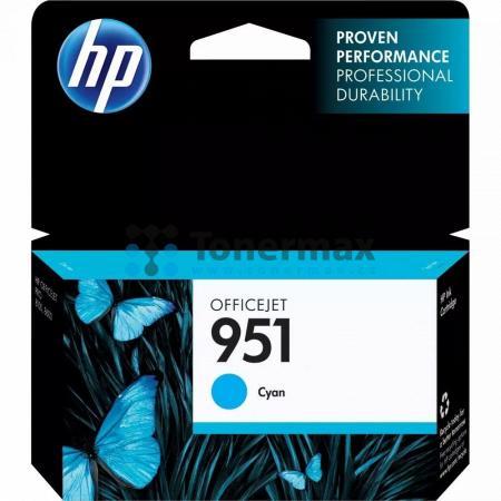 HP 951, HP CN050AE, originální cartridge pro tiskárny HP Officejet Pro 251dw, Officejet Pro 276dw, Officejet Pro 8100, Officejet Pro 8600, Officejet Pro 8600 Plus, Officejet Pro 8600 Premium, Officejet Pro 8610, Officejet Pro 8620, Officejet Pro 8630