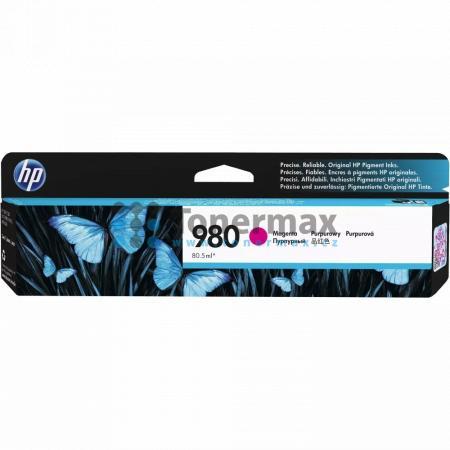 HP 980, HP D8J08A, originální cartridge pro tiskárny HP Officejet Enterprise Color Flow MFP X585z, Officejet Enterprise Color MFP X585, Officejet Enterprise Color MFP X585dn, Officejet Enterprise Color MFP X585f, Officejet Enterprise Color X555, Officejet