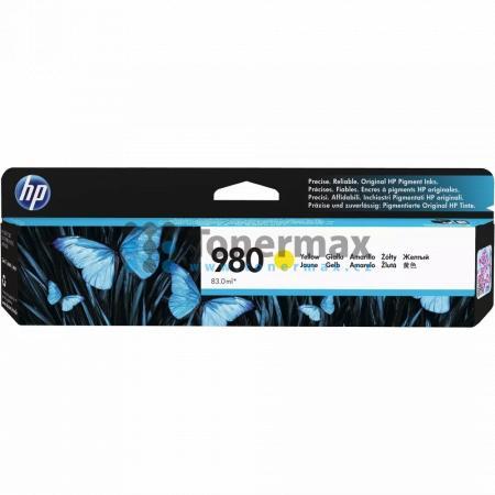 HP 980, HP D8J09A, originální cartridge pro tiskárny HP Officejet Enterprise Color Flow MFP X585z, Officejet Enterprise Color MFP X585, Officejet Enterprise Color MFP X585dn, Officejet Enterprise Color MFP X585f, Officejet Enterprise Color X555, Officejet