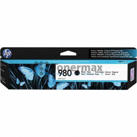 HP 980, HP D8J10A, originální cartridge pro tiskárny HP Officejet Enterprise Color Flow MFP X585z, Officejet Enterprise Color MFP X585, Officejet Enterprise Color MFP X585dn, Officejet Enterprise Color MFP X585f, Officejet Enterprise Color X555, Officejet