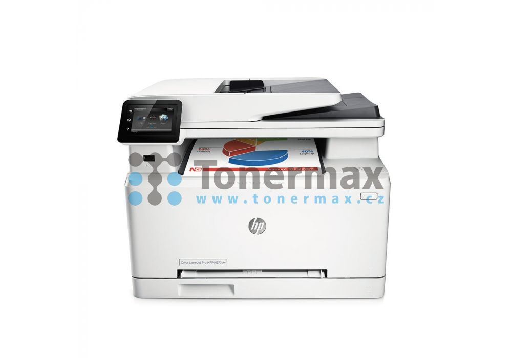 hp color laserjet pro mfp m277dw n pln do tisk rny toner. Black Bedroom Furniture Sets. Home Design Ideas
