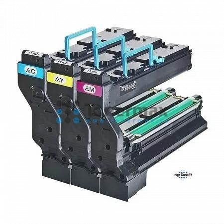 Konica Minolta 1710606-002, sada barevných tonerů, originální toner pro tiskárny Konica Minolta magicolor 5440DL, magicolor 5450