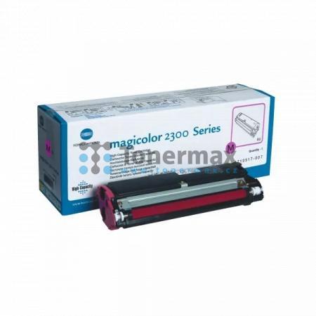Konica Minolta 4576411, 1710517-007, poškozený obal, originální toner pro tiskárny Konica Minolta magicolor 2300DL, magicolor 2300W, magicolor 2350