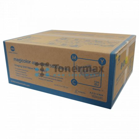 Konica Minolta A0310NH, Imaging Unit value pack, originální pro tiskárny Konica Minolta magicolor 4650DN, magicolor 4650EN, magicolor 4690MF, magicolor 4690MF-DN, magicolor 4690MF-EN, magicolor 4695MF, magicolor 5550, magicolor 5570, magicolor 5650EN, mag