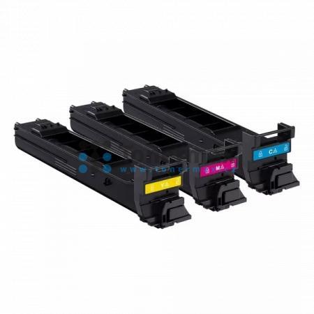 Konica Minolta A0DKJ52, sada barevných tonerů, originální toner pro tiskárny Konica Minolta magicolor 4650DN, magicolor 4650EN, magicolor 4690MF, magicolor 4690MF-DN, magicolor 4690MF-EN, magicolor 4695MF