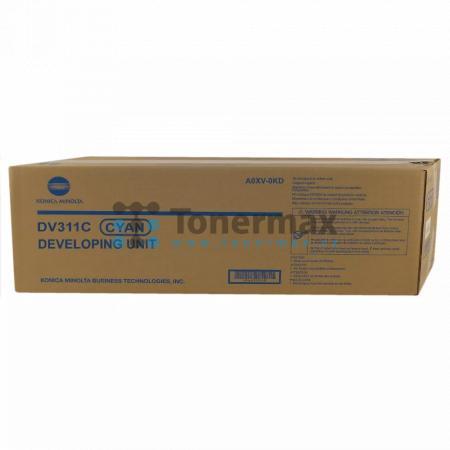 Konica Minolta DV311C, DV-311C, A0XV0KD, Developing Unit, originální pro tiskárny Konica Minolta bizhub C220, bizhub C280, bizhub C360
