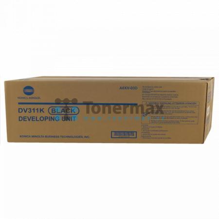 Konica Minolta DV311K, DV-311K, A0XV03D, Developing Unit, originální pro tiskárny Konica Minolta bizhub C220, bizhub C280, bizhub C360