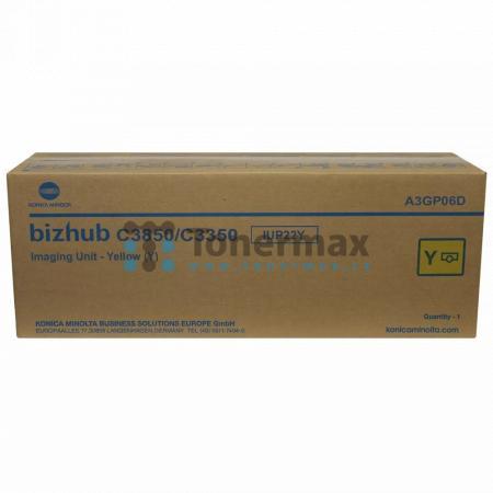 Konica Minolta IUP22Y, IUP-22Y, A3GP06D, Imaging Unit, originální pro tiskárny Konica Minolta bizhub C3350, bizhub C3850, bizhub C3850FS