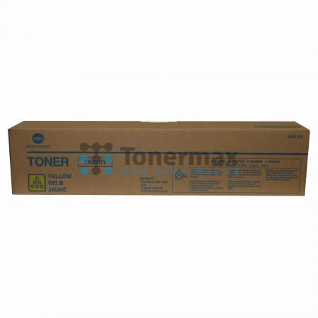 Konica Minolta TN210Y, TN-210Y, 8938-510, originální toner pro tiskárny Konica Minolta bizhub C250, bizhub C250P, bizhub C252, bizhub C252P
