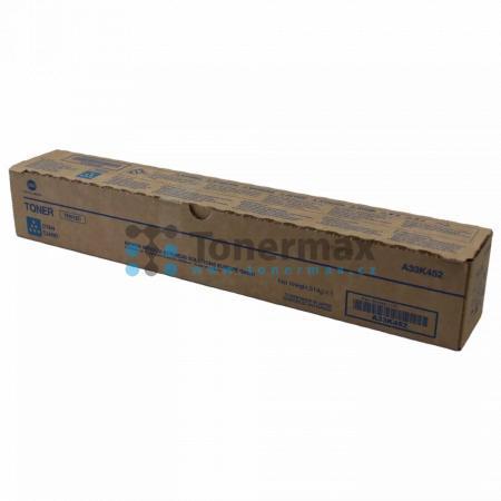 Konica Minolta TN512C, TN-512C, A33K452, originální toner pro tiskárny Konica Minolta bizhub C454, bizhub C454e, bizhub C554, bizhub C554e
