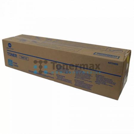 Konica Minolta TN611C, TN-611C, A070450, poškozený obal, originální toner pro tiskárny Konica Minolta bizhub C451, bizhub C550, bizhub C650