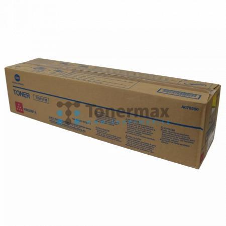 Konica Minolta TN611M, TN-611M, A070350, poškozený obal, originální toner pro tiskárny Konica Minolta bizhub C451, bizhub C550, bizhub C650