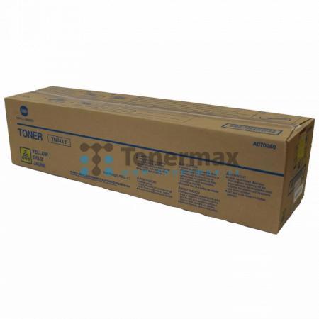 Konica Minolta TN611Y, TN-611Y, A070250, originální toner pro tiskárny Konica Minolta bizhub C451, bizhub C550, bizhub C650