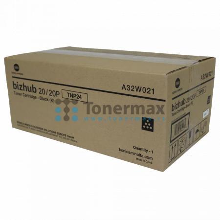 Konica Minolta TNP24, TNP-24, A32W021, originální toner pro tiskárny Konica Minolta bizhub 20, bizhub 20P