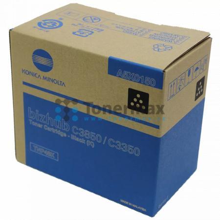 Konica Minolta TNP48K, TNP-48K, A5X0150, originální toner pro tiskárny Konica Minolta bizhub C3350, bizhub C3850, bizhub C3850FS