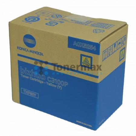 Konica Minolta TNP50Y, TNP-50Y, A0X5254, originální toner pro tiskárny Konica Minolta bizhub C3100P