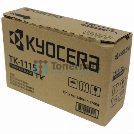 Kyocera TK-1115, TK1115, originální toner pro tiskárny Kyocera ECOSYS FS-1041, FS-1041, ECOSYS FS-1220MFP, FS-1220MFP, ECOSYS FS-1320MFP, FS-1320MFP