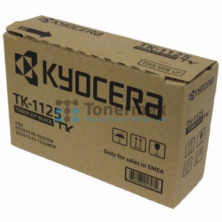 Kyocera TK-1125, TK1125, originální toner pro tiskárny Kyocera ECOSYS FS-1061, ECOSYS FS-1061DN, ECOSYS FS-1325MFP