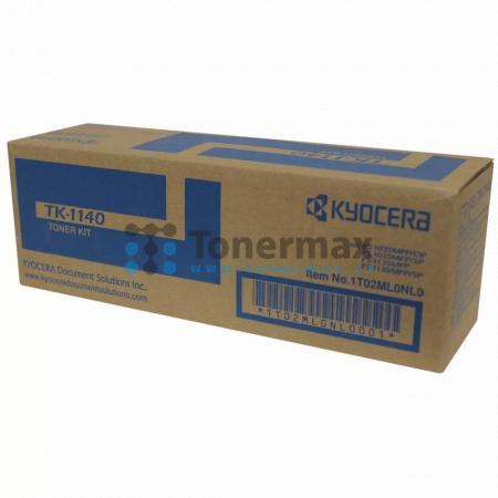 Kyocera TK-1140, TK1140, originální toner pro tiskárny Kyocera ECOSYS M2035dn, ECOSYS M2035, ECOSYS M2535dn, ECOSYS M2535, FS-1035MFP, FS-1035MFP/DP, FS-1035MFP/SP, FS-1135MFP, FS-1135MFP/SP