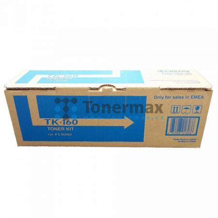 Kyocera TK-160, TK160, poškozený obal, originální toner pro tiskárny Kyocera ECOSYS P2035d, FS-1120D, FS-1120DN