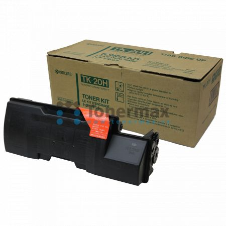 Kyocera TK-20H, TK20H, poškozený obal, originální toner pro tiskárny Kyocera FS-1700, FS-1700+, FS-1750, FS-3700, FS-3700+, FS-3750, FS-6700, FS-6900
