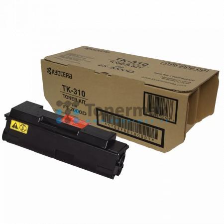 Kyocera TK-310, TK310, originální toner pro tiskárny Kyocera FS-2000D, FS-3900DN, FS-4000DN