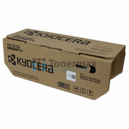 Kyocera TK-3150, TK3150, originální toner pro tiskárny Kyocera ECOSYS M3040idn, ECOSYS M3540idn