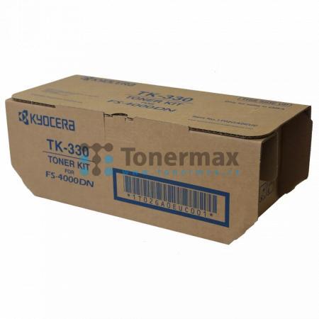 Kyocera TK-330, TK330, poškozený obal, originální toner pro tiskárny Kyocera FS-4000DN