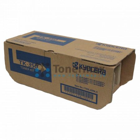 Kyocera TK-350, TK350, originální toner pro tiskárny Kyocera FS-3040MFP, FS-3040MFP+, FS-3140MFP, FS-3140MFP+, FS-3540MFP, FS-3640MFP, FS-3920DN