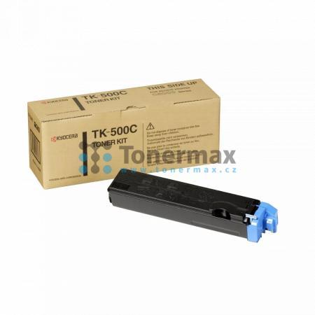Kyocera TK-500C, TK500C, originální toner pro tiskárny Kyocera FS-C5016N