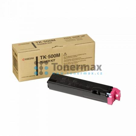 Kyocera TK-500M, TK500M, originální toner pro tiskárny Kyocera FS-C5016N