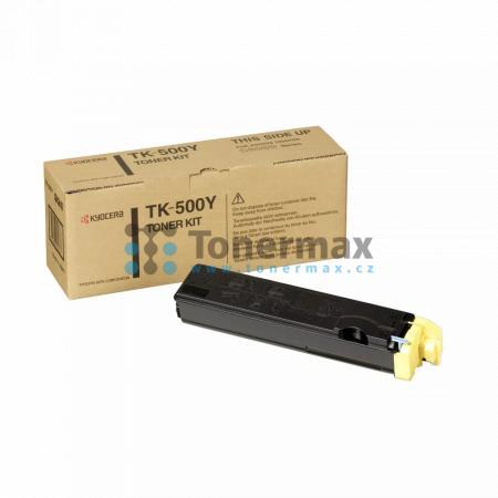 Kyocera TK-500Y, TK500Y, originální toner pro tiskárny Kyocera FS-C5016N