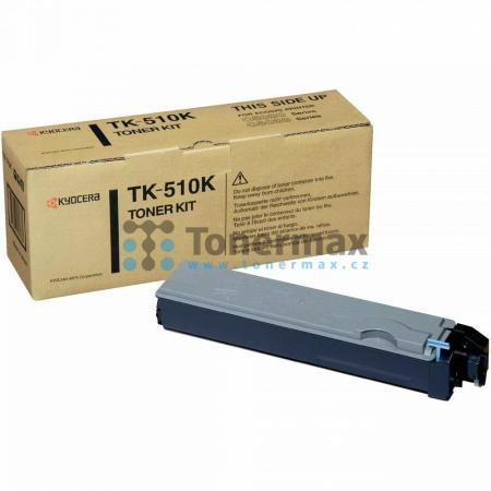 Kyocera TK-510K, TK510K, originální toner pro tiskárny Kyocera FS-C5020N, FS-C5025N, FS-C5030N