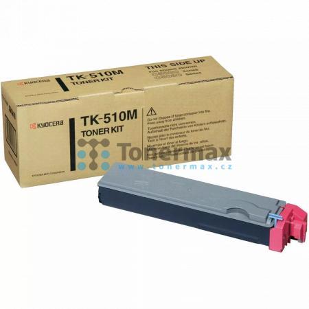 Kyocera TK-510M, TK510M, poškozený obal, originální toner pro tiskárny Kyocera FS-C5020N, FS-C5025N, FS-C5030N