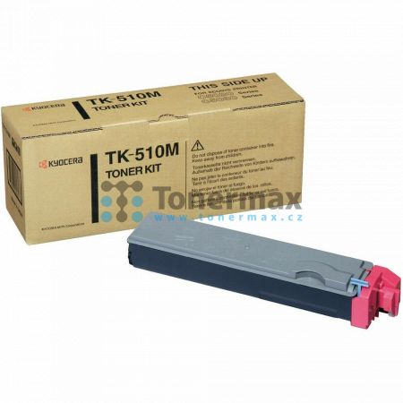 Kyocera TK-510M, TK510M, originální toner pro tiskárny Kyocera FS-C5020N, FS-C5025N, FS-C5030N